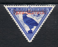 Island Dienst 59 Ungebraucht - Flugpost Allthing 1930 - Service