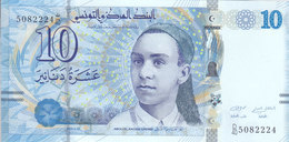 TUNISIA TUNISIE 10 Dinar 2013 P-96 UNC */* - Tusesië