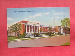 High School   Orange   New Jersey -ref 3299 - United States