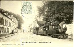 VILLIERS Le BEL (VAL D' OISE) - GRANDE RUE D' AVAL  - TRES BELLE CARTE - - Cartes Postales
