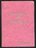 ENNA - ANNI 50 - LIBRICCINO A FISARMONICA CON 20 BELLE VEDUTINE (cm 10,5 X 7,5) - Enna