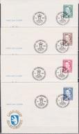 Grönland 1990 FDC Nr.201 - 204 Königin Margarethe II. ( D 1444 ) Günstige Versandkosten - FDC
