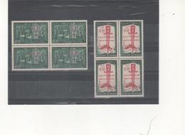 Marruecos Independiente 446/47 Erradicación Del Paludismo Bloque De Cuatro  Sellos Nuevos Sin Fijasellos Según Foto - Marruecos (1956-...)