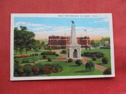 World War Monument & Armory Passaic    New Jersey -ref 3299 - United States