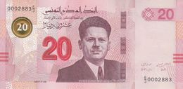 TUNISIA TUNISIE 20 Dinar 2017 P-NEW UNC */* - Tusesië