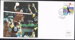 Angola 2004 IOC FDC Volleyball - Volleyball