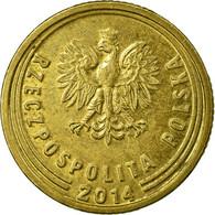 Monnaie, Pologne, 5 Groszy, 2014, Warsaw, TTB, Laiton - Poland