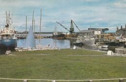 Postcard Glasson Dock Lancaster Ships In Port Shipping Interest My Ref  B13076 - Cargos