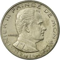 Monnaie, Monaco, Rainier III, 1/2 Franc, 1979, TB+, Nickel, Gadoury:MC 149 - Monaco