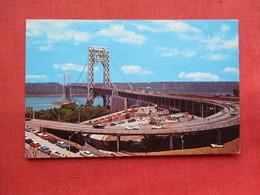 George Washington Bridge   Fort Lee  NJ-  ---------ref 3300 - United States