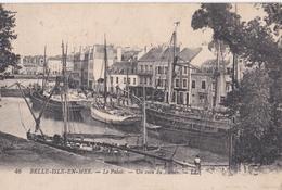 CPA/ Belle Ile En Mer   (56) Le Palais Un Coin Du Bassin      LL  46 - Belle Ile En Mer
