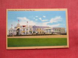 Convention Hall & Solarium  Cape May   NJ-  ---------ref 3300 - United States