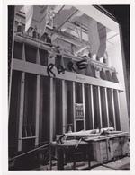 PHOTO ANCIENNE,MINE,MINEUR,OUVRIER,73,74,SAVOIE,1953,CONSTRUCTION CENTRALE ELECTRIQUE SOUTERRAINE,RANDANS,ISERE,ARC, - Lieux