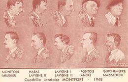 Cuadrilla Landaise MONTFORT 1948 Par G REMY - Unclassified