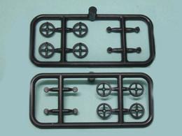 Parsifal - 8 VOLANTS 5 MM 4 BRANCHES Détaillage Accessoire Neuf HO 1/87 - Alimentazione & Accessori Elettrici