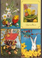 96475/ PAQUES, 4 Cartes - Pâques