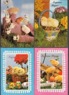 96479/ PAQUES, 4 Cartes - Pâques