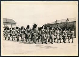 °°° VECCHIA FOTO - BERSAGLIERI DI CORSA °°° - Regiments