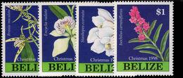 Belize 1998 Christmas. Orchids Unmounted Mint. - Belize (1973-...)