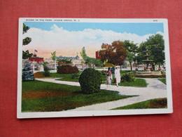Scene In The Park   Ocean Grove      NJ-  ---------ref 3300 - United States
