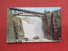 The Great Falls Of The Passaic River      Paterson    NJ-  ---------ref 3300 - Paterson