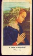 Santino - La Vergine In Adorazione - E 11 - Santini