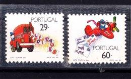 Portugal 1989 Mi#1775-1776 Mint Never Hinged - Unused Stamps