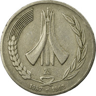 Monnaie, Algeria, Dinar, 1987, Paris, TTB, Copper-nickel, KM:117 - Algeria