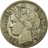 Monnaie, France, Cérès, 2 Francs, 1871, Bordeaux, TB, Argent, Gadoury:529 - France