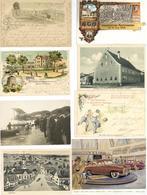 DEUTSCHLAND - Karton Mit über 160 Alten ANSICHTSKARTEN Auch Bessere Stücke - Viel Verwertbares Material! Viel Bayern - D - Kamerun