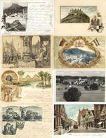 Deutschland Und Etwas Ausland Partie Mit über 400 Ansichtskarten Dabei Etliche Lithos Und Prägekarten I-II - Kamerun