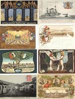 Deutschland Und Motive Und Etwas Europa Altes Album Mit über 520 Ansichtskarten Viele Bessere Karten Und Lithos Dabei I- - Kamerun