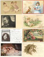 Motive Partie Mit Circa 5000 Ansichtskarten Vor 1945 Viele Kinder Und Frauen I-II Femmes - Kamerun