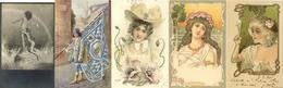 Motive Partie Mit über 320 Ansichtskarten Meist Vor 1930 Mit Etlichen Schönen Jugendstil-Karten I-II Art Nouveau - Kamerun