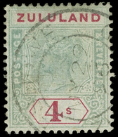 O Zululand - Lot No.1187 - South Africa (...-1961)