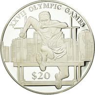Monnaie, Liberia, 20 Dollars, 2000, FDC, Argent, KM:486 - Liberia