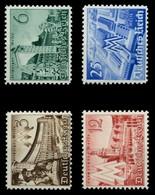 3. REICH 1940 Nr 739-742 Postfrisch X6E3096 - Allemagne