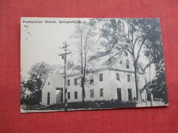 Presbyterian Church Springfield   NJ------ref 3301 - United States