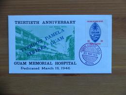 Guam Guard Mail FDC 1976 Memorial Hospital - 1971-1980