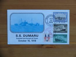 Guam Guard Mail FDC 1978 S S Dumaru - 1971-1980