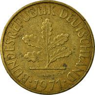 Monnaie, République Fédérale Allemande, 10 Pfennig, 1971, Karlsruhe, TB - 10 Pfennig