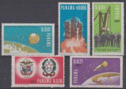 PANAMA - 1966 Italian Contribution To Space. Scott 469-469D. MNH ** - Panama