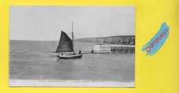 CPA 76 Saint VALERY En CAUX Barque Entrant Dans Le Port   1918 - F.S.V.C. 1741 - Saint Valery En Caux