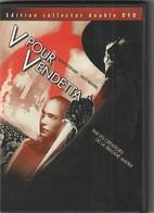 DVD  V POUR VENDETTA  édition Collector Double Dvd   Etat: TTB Port 140 Gr - Fantastici