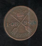 1 Ore Suède 1758 TTB+ - Suède