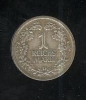 1 Mark Allemagne / Germany 1926 D - TTB - [ 3] 1918-1933 : Repubblica Di Weimar