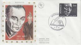 Enveloppe  FDC  1er  Jour   MONACO   Louis  JOUVET  1987 - Theater