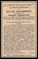 Slijpe, Slype, 1925, Sylvie Vanhooren, Degrauwe - Devotieprenten