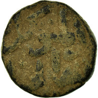 Monnaie, Inde, Sultanate, Bahmanis, Mahmud Shah, 1/2 Gani, TB, Cuivre - Inde