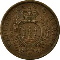 Monnaie, San Marino, 5 Centesimi, 1936, Rome, SUP, Bronze, KM:12 - San Marino